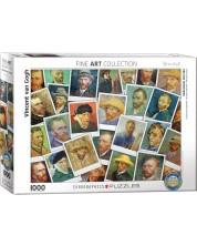 Puzzle Eurographics de 1000 piese - Selfiuri, Vincent van Gog