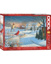 Puzzle Eurographics de 1000 piese - Macaleandrul iarna Sam Tim