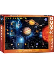 Puzzle Eurographics de 1000 piese - Planetele