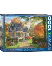 Puzzle Eurographics de 1000 piese - Casa albastra, Dominic Davison -1