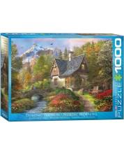 Puzzle Eurographics de 1000 piese - Dimineata nordica, Dominic Davison -1
