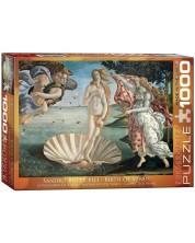 Puzzle Eurographics de 1000 piese – Nasterea lui Venus, Sandro Botticelli