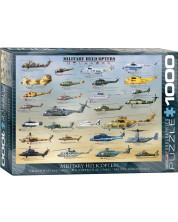 Puzzle Eurographics de 1000 piese – Elicoptere militare