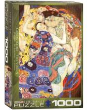 Puzzle Eurographics de 1000 piese – Fecioara, Gustav Klimt