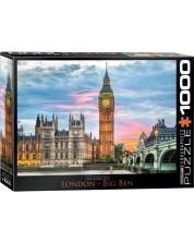Puzzle Eurographics de 1000 piese – Big Ben, Londra
