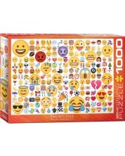 Puzzle Eurographics de 1000 piese - Emoticon, Care sunt dispoziziile tale?
