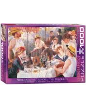 Puzzle Eurographics de 1000 piese – Pranz dupa plimbarea cu barca, Pierre Auguste Renoir