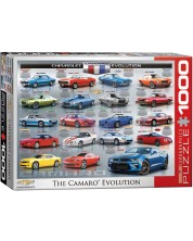 Puzzle Eurographics de 1000 piese - Evolutia Chevrolet Camaro