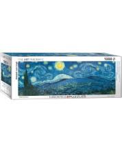 Puzzle panoramic Eurographics de 1000 piese - Noapte instelata, Vincent van Gogh