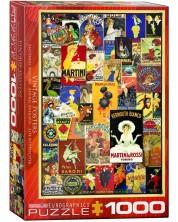 Puzzle Eurographics de 1000 piese – Postere retro