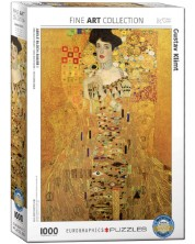 Puzzle Eurographics de 1000 piese – Portretul Adelei Bauer, Gustav Klimt