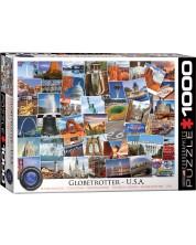 Puzzle Eurographics de 1000 piese – Calatorie in America