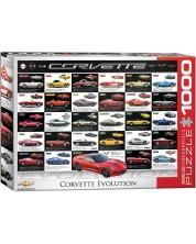 Puzzle Eurographics de 1000 piese – Dezvoltarea automobilelor Chevrolet