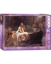 Puzzle Eurographics de 1000 piese – Dama de la Shalott, John William Waterhouse