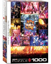 Puzzle Eurographics de 1000 piese - Kiss in direct