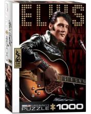 Puzzle Eurographics de 1000 piese – Portretul lui Elvis Presley