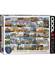 Puzzle Eurographics de 1000 piese – Calatorie la castelele si palatele din lume