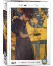 Puzzle Eurographics de 1000 piese – Muzica, Gustav Klimt