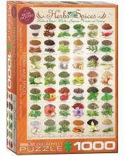 Puzzle Eurographics de 1000 piese - Ierburi si condimente