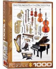 Puzzle Eurographics de 1000 piese – Instrumente ale orchestrei -1