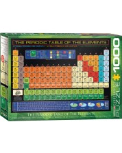 Puzzle Eurographics de 1000 piese – Tabel periodic -1