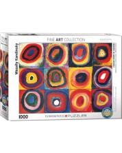 Puzzle Eurographics de 1000 piese – Teoriea culorilor, Wassily Kandinsky