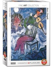 Puzzle Eurographics de 1000 piese – Violonist, Mark Chagall