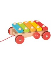 Instrument muzical pentru copii Goki - Xilofon, cu roti -1