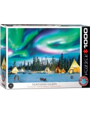 Puzzle Eurographics cu 1000 de piese - Aurora boreala -1