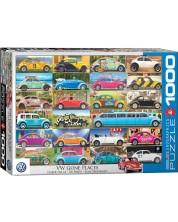 Puzzle Eurographics  cu 1000 de piese - VW Beetle
