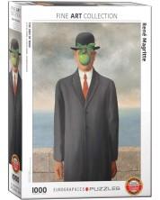 Puzzle Eurographics cu 1000 de piese - The son af man, René Magritte -1