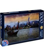 Puzzle D-Toys de 1000 piese - Hong Kong