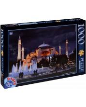 Puzzle D-Toys de 1000 piese - Biserica Sfanta Sofia, Istanbul