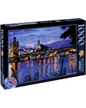 Puzzle D-Toys de 1000 piese - Praga, Cehia