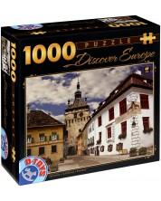 Puzzle D-Toys de 1000 piese - Sighisoara, Romania