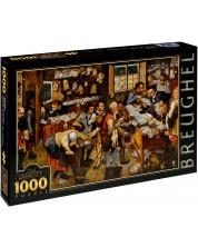 Puzzle D-Toys de 1000 piese – Plata zecimilor, Pieter Bruegel cel Tanar