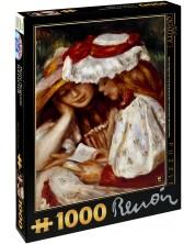 Puzzle D-Toys de 1000 piese – Dou fete citesc, Pierre Renoir