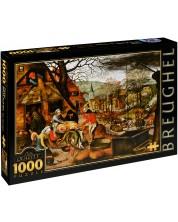 Puzzle D-Toys de 1000 piese – Toamna, Pieter Bruegel cel Tanar
