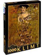Puzzle D-Toys de 1000 piese – Portretul lui Adel Bloch-Bauer I, Gustav Klimt