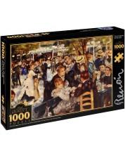 Puzzle D-Toys de 1000 piese - Bal in Moulin Duo la Galette, Pierre Renoir