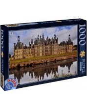 Puzzle D-Toys de 1000 piese - Castelul Chambord, Franta