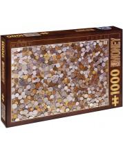Puzzle D-Toys de 1000 piese - Monede