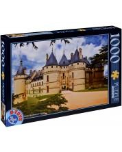 Puzzle D-Toys de 1000 piese - Castelul Chaumont sur Loire, Franta