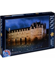 Puzzle D-Toys de 1000 piese - Castelul Chenonceau, Franta