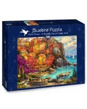 Puzzle Bluebird de 2000 piese - O zi frumoasa in Cinque Terry