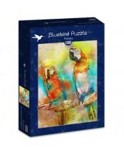Puzzle Bluebird de 1000 piese - Papagali