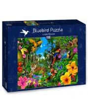 Puzzle Bluebird de 1500 piese - Rasarit in jungla