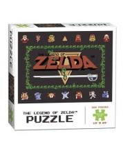 Puzzle de colectie USAopoly de 550 piese - The Legend Of Zelda: Classic