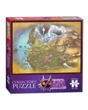 Puzzle de colectie USAopoly de 550 piese - The Legend Of Zelda: Majoras mask – Harta Termina