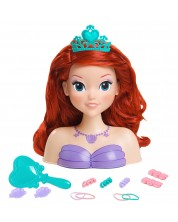 Cap de Papusa pentru coafat Just Play - Ariel -1
